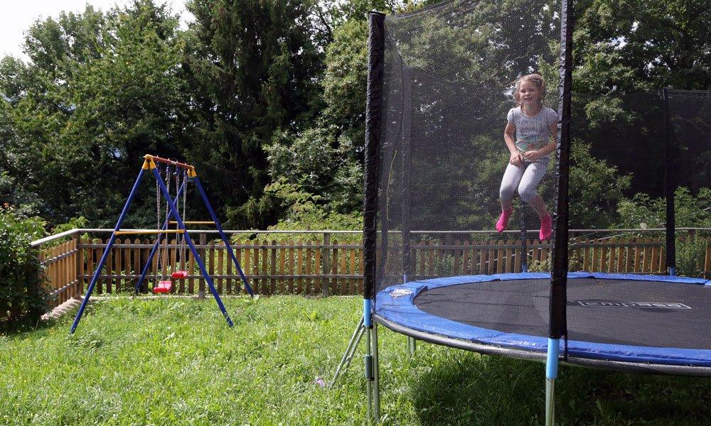 Spielmöglichkeiten für die Kinder in den Familienferien