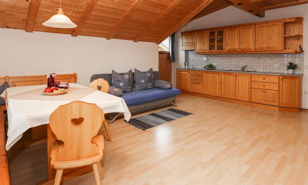 Die Küche Ihrer Unterkunft in Villanders – Selbstversorgung leichtgemacht