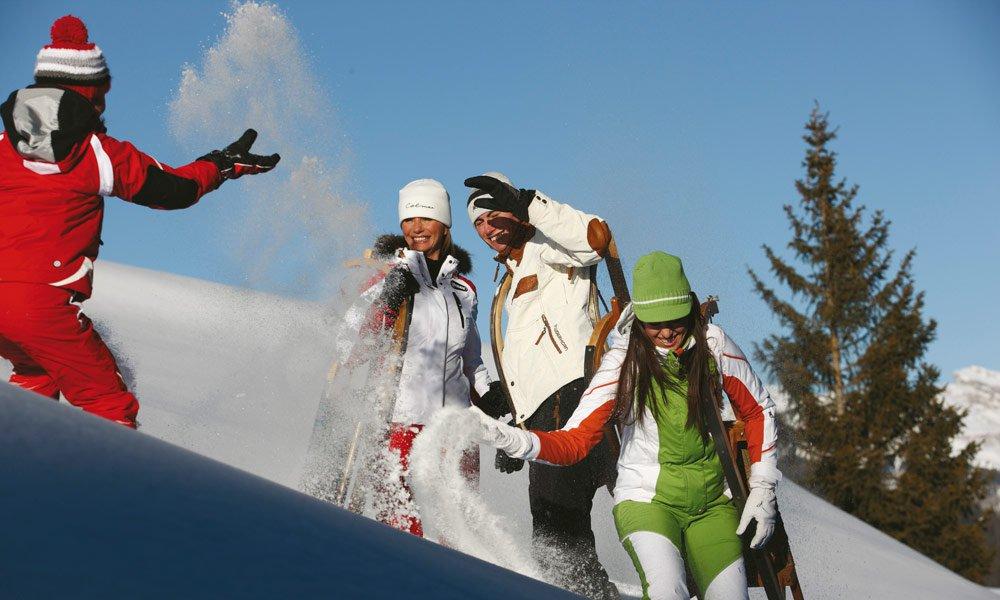 Winter holidays in Villanders - tobogganing, ice skating, ski mountaineering