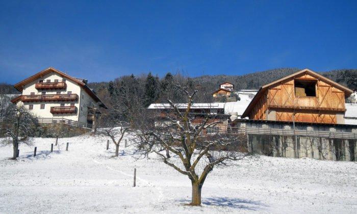 Erholsamer Winterurlaub auf dem Bauernhof im Falserhof bei Villanders